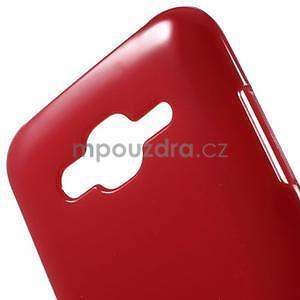 Červený gélový kryt pre Samsung Galaxy J5 - 4