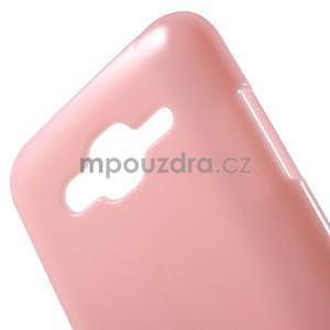 Růžový gelový kryt pro Samsung Galaxy J5 - 4