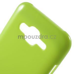 Zelený gelový kryt pro Samsung Galaxy J5 - 4