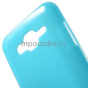 Světle modrý gelový kryt pro Samsung Galaxy J5 - 4