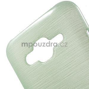 Broušený gelový obal na Samsung Galaxy J5 - azurový - 4