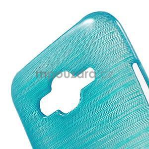 Broušený gelový obal na Samsung Galaxy J5 - tyrkysový - 4