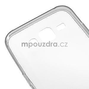 Ultra tenký slim gelový obal pro Samsung Galaxy J5 - šedý - 4