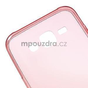 Ultra tenký slim gelový obal pro Samsung Galaxy J5 - červený - 4