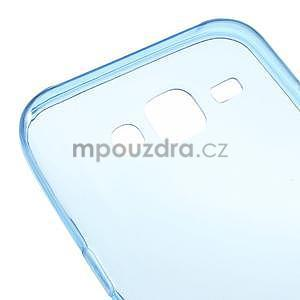 Ultra tenký slim gelový obal pro Samsung Galaxy J5 - tmavě modrý - 4