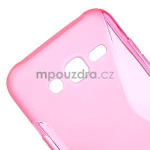 S-line gelový kryt na Samsung Galaxy J5 - rose - 4