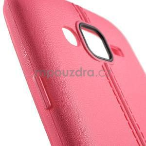 Gelový kryt se švy na Samsung Galaxy J5 - rose - 4