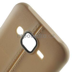 Gelový kryt se švy na Samsung Galaxy J5 - champagne - 4