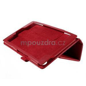 Koženkové pouzdro na tablet Asus ZenPad 7.0 Z370CG - červené - 4