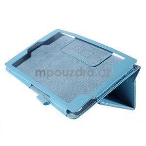Koženkové pouzdro na tablet Asus ZenPad 7.0 Z370CG - světle modré - 4