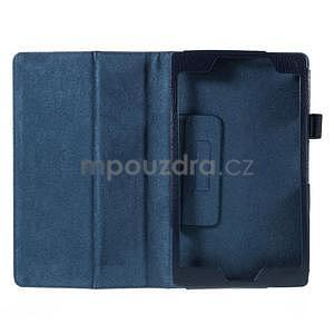 Koženkové pouzdro na tablet Asus ZenPad 7.0 Z370CG - tmavě modré - 4