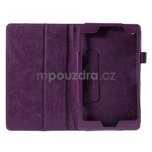 Koženkové pouzdro na tablet Asus ZenPad 7.0 Z370CG - fialové - 4