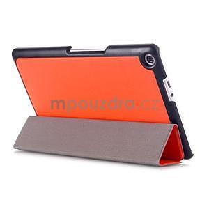 Třípolohové pouzdro na tablet Asus ZenPad 8.0 Z380C - oranžové - 4