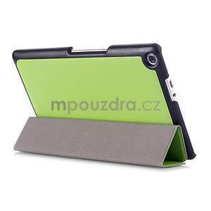 Třípolohové pouzdro na tablet Asus ZenPad 8.0 Z380C - zelené - 4
