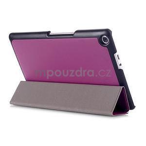 Třípolohové pouzdro na tablet Asus ZenPad 8.0 Z380C - fialové - 4