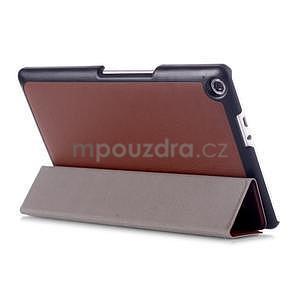 Třípolohové pouzdro na tablet Asus ZenPad 8.0 Z380C - hnědé - 4