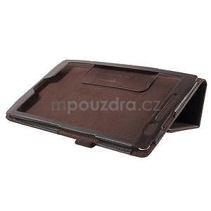 Safety polohovatelné pouzdro na tablet Asus ZenPad 8.0 Z380C - hnědé - 4