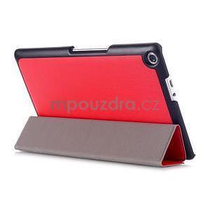 Třípolohové pouzdro na tablet Asus ZenPad 8.0 Z380C - červené - 4