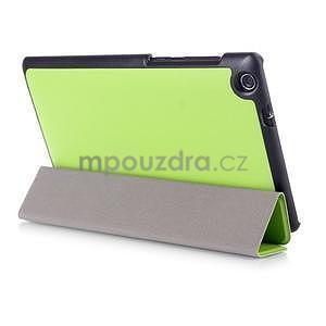 Trifold pouzdro na tablet Asus ZenPad C 7.0 Z170MG - zelené - 4