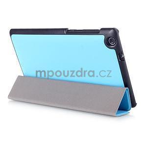 Trifold pouzdro na tablet Asus ZenPad C 7.0 Z170MG - světlemodré - 4