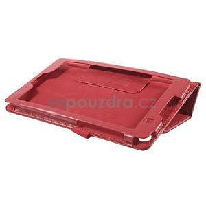 Safety koženkové pouzdro na Asus ZenPad C 7.0 Z170MG - červené - 4