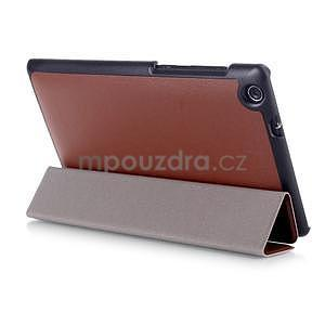 Trifold puzdro na tablet Asus ZenPad C 7.0 Z170MG - hnedé - 4