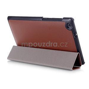 Trifold pouzdro na tablet Asus ZenPad C 7.0 Z170MG - hnedé - 4