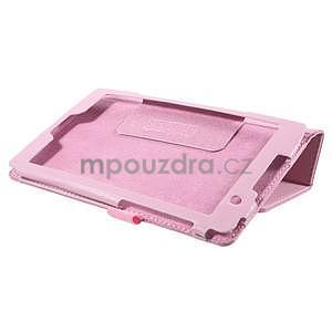 Safety koženkové pouzdro na Asus ZenPad C 7.0 Z170MG - růžové - 4