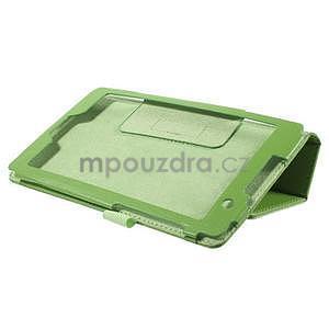Safety koženkové pouzdro na Asus ZenPad C 7.0 Z170MG - zelené - 4