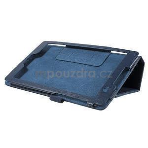 Safety koženkové pouzdro na Asus ZenPad C 7.0 Z170MG - tmavěmodré - 4