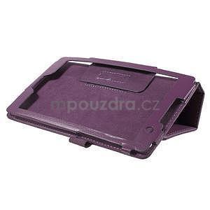 Safety koženkové pouzdro na Asus ZenPad C 7.0 Z170MG - fialové - 4