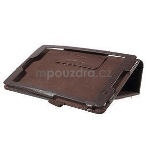Safety koženkové pouzdro na Asus ZenPad C 7.0 Z170MG - hnědé - 4