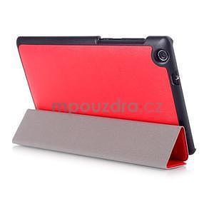 Trifold pouzdro na tablet Asus ZenPad C 7.0 Z170MG - červené - 4