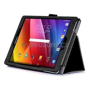Polohovatelné koženkové pouzdro na tablet Asus ZenPad S 8.0 - černé - 4
