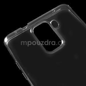 Transparentní gelový obal na telefon Honor 7 - šedý - 4