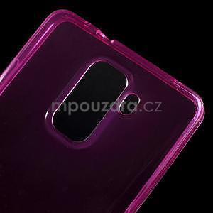 Transparentní gelový obal na telefon Honor 7 - rose - 4