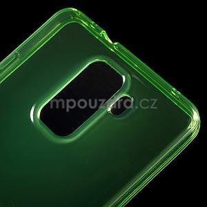 Transparentní gelový obal na telefon Honor 7 - zelený - 4