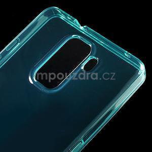 Transparentní gelový obal na telefon Honor 7 - azurový - 4
