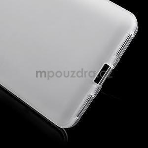 Bílé gelové pouzdro na mobil Honor 7 - 4