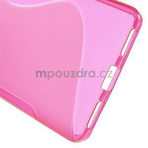 Rose gelový kryt S-line na Huawei Honor 7 - 4