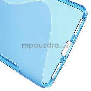 Modrý gelový kryt S-line na Huawei Honor 7 - 4
