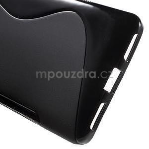 Černý gelový kryt S-line na Huawei Honor 7 - 4