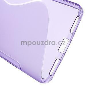 Fialový gelový kryt S-line na Huawei Honor 7 - 4