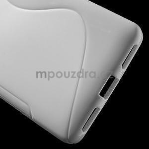 Bílý gelový kryt S-line na Huawei Honor 7 - 4