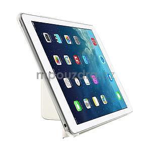 Origami ochranné pouzdro na Apple iPad Air - bílé - 4