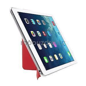 Origami ochranné pouzdro na Apple iPad Air - červené - 4