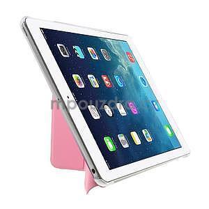Origami ochranné pouzdro na Apple iPad Air - růžové - 4