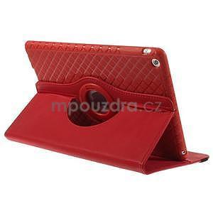 Circ otočné pouzdro na Apple iPad Air - červené - 4