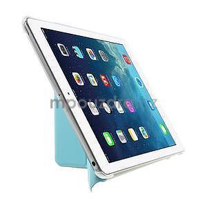 Origami ochranné pouzdro na Apple iPad Air - světle modré - 4
