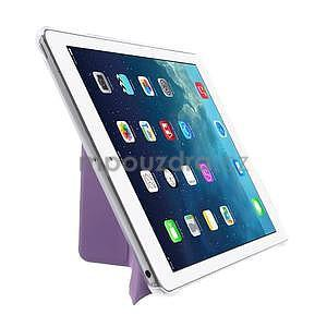 Origami ochranné pouzdro na Apple iPad Air - fialové - 4